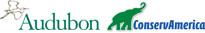 Audubon and ConservAmerica logos